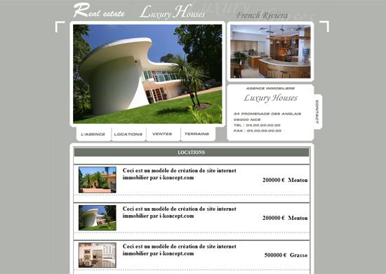 Création Site internet Immobilier