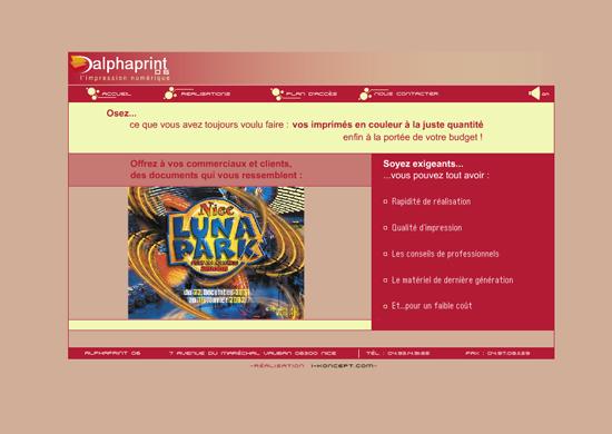 Site internet agence comunication
