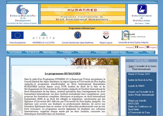 Création Site internet institutionnel