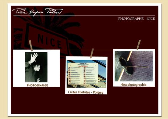 Création Site internet catalogue pour Artiste