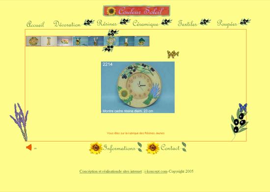 Création Site internet vitrine commerçant