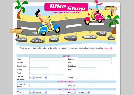 Création Site internet catalogue commerçant